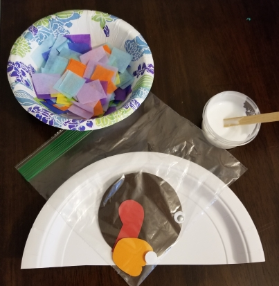 Easy Turkey Craft from Happy Home Fairy