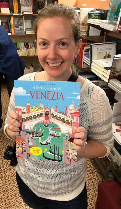 Usborne Books in Italy!