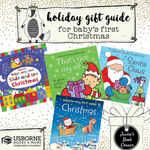 Baby's First Christmas - Holiday Gift Guide from Jaime's Book Corner
