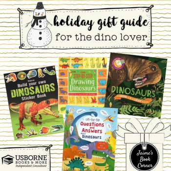 holiday gift guide dino lover