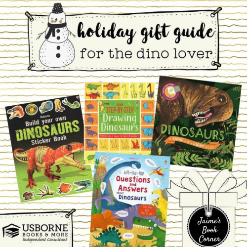 Dinosaur Lovers - Holiday Gift Guide from Jaime's Book Corner