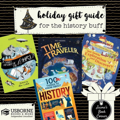The History Buff - Holiday Gift Guide from Jaime's Book Corner
