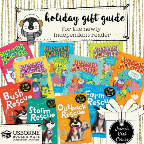 The Newly Independent Reader - Holiday Gift Guide from Jaime's Book Corner