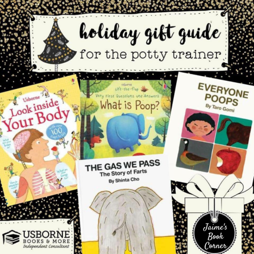 The Potty Trainer - Holiday Gift Guide from Jaime's Book Corner