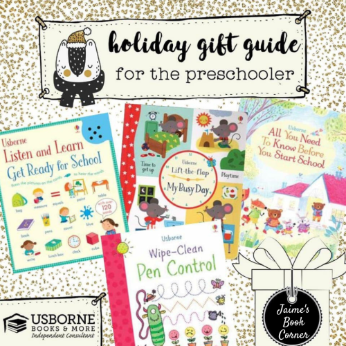 The Preschooler - Holiday Gift Guide from Jaime's Book Corner