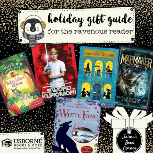 The Ravenous Reader - Holiday Gift Guide from Jaime's Book Corner