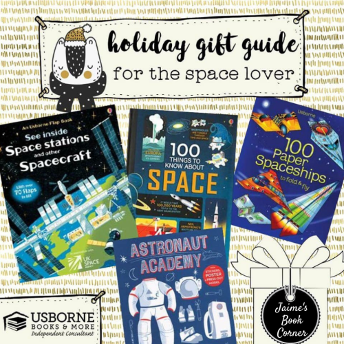 The Space Lover - Holiday Gift Guide from Jaime's Book Corner