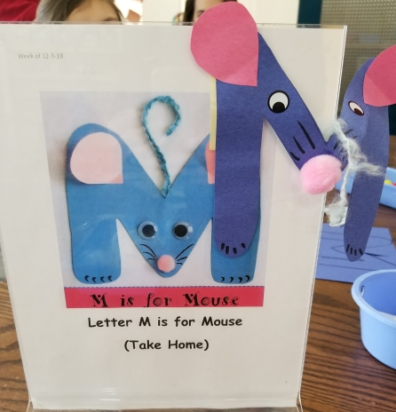 M is for Mouse - Craft & Story Activity from Jaime's Book Corner