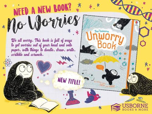 The Usborne Unworry Book - an activity book to calm your mind || Jaime's Book Corner