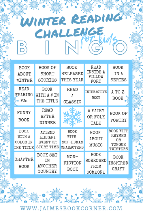Winter Reading Challenge for Kids - Jaime's Book Corner