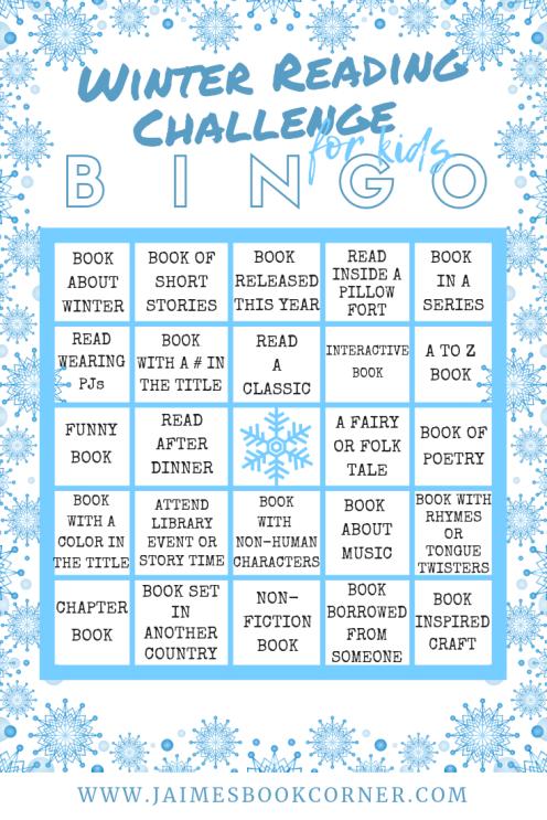 Winter Reading Challenge for Kids - Jaime's Book Corner
