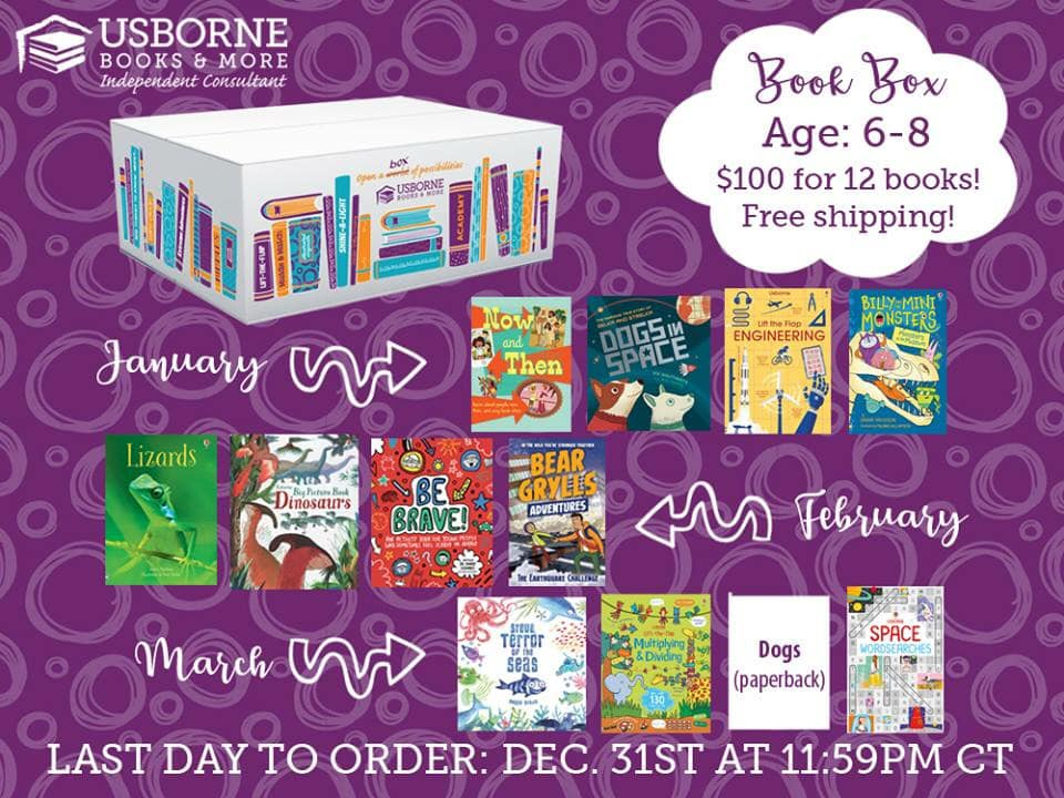 Book Box Subscription for Ages 6-8! $100 for 12 books and free shipping. 3 boxes delivered straight to your door in January, February, and March, available to order until December 31, 2018. Resolve to read in 2019! || Jaime's Book Corner