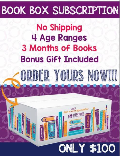 Book Box Subscription for January, February, and March, available to order until December 31, 2018 || Jaime's Book Corner