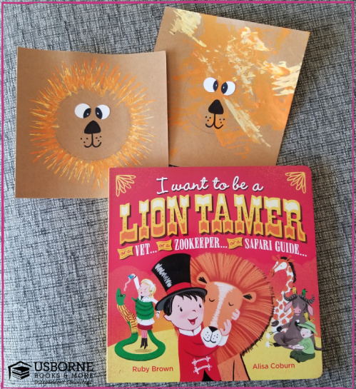 I Want to Be a Lion Tamer Story and Craft from Jaime's Book Corner
