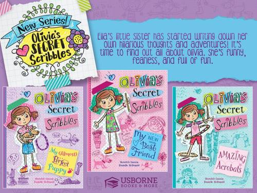 Olivia's Secret Scribbles - a New Series for Ages 6-9 | Jaime's Book Corner