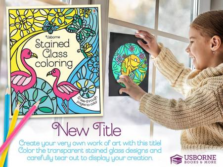 Stained Glass Coloring - a fun new activity book! | Jaime's Book Corner