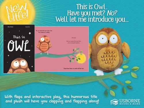 This is Owl - a hilarious new book to read and interact with your children ages 3 and up | Jaime's Book Corner