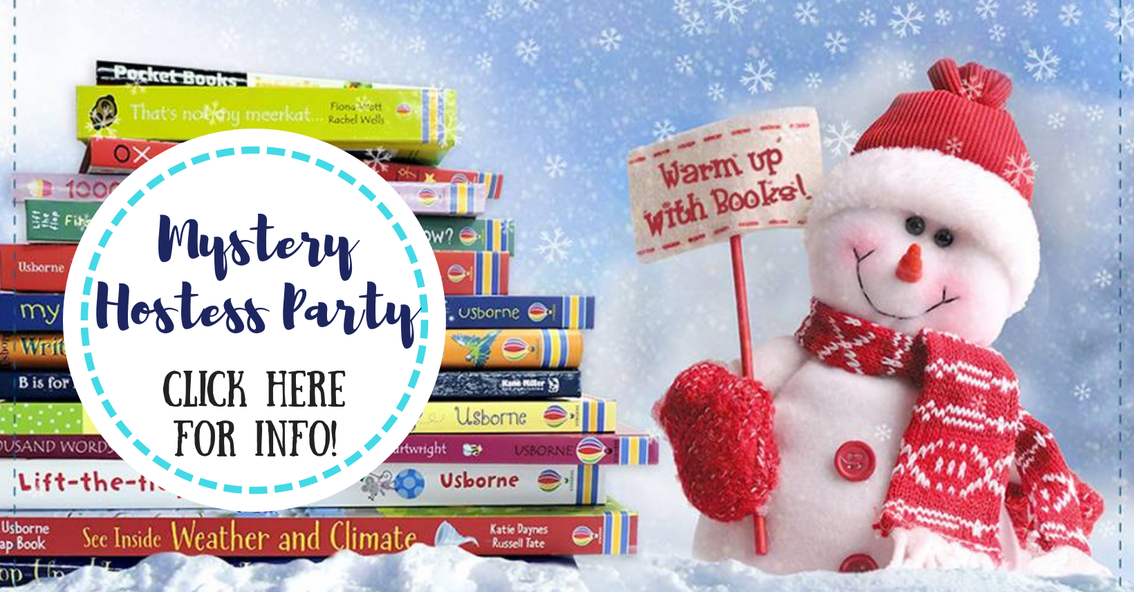 Mystery Hostess Party with Jaime's Book Corner