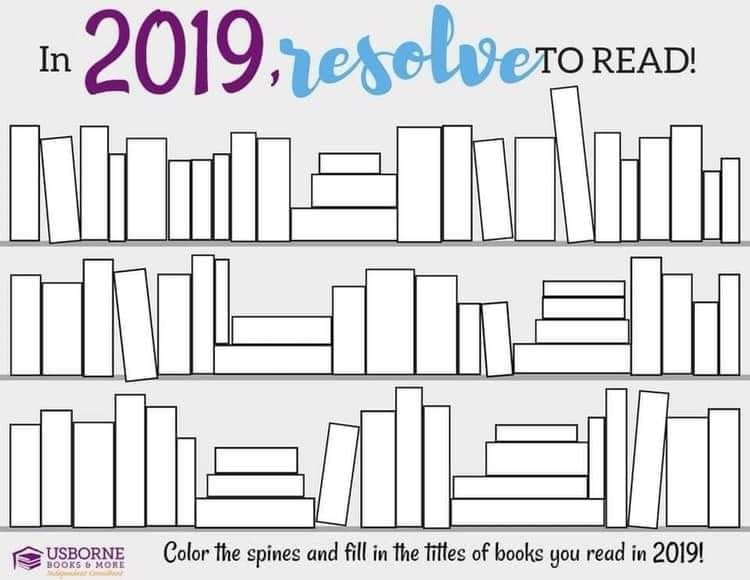 Resolve to Read in 2019 with Jaime's Book Corner