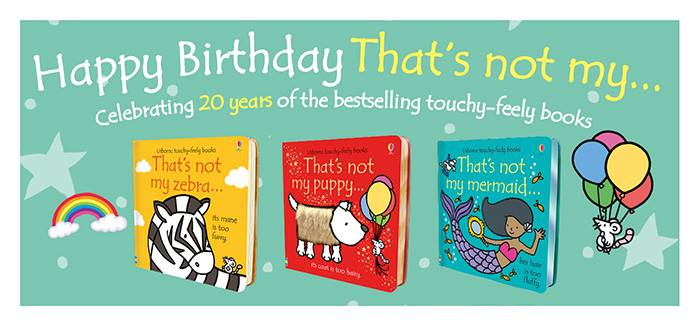 "Happy Birthday to the ""That's Not My"" series! - Jaime's Book Corner"