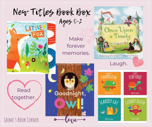 New Titles Book Box Ages 0-2 || Jaime's Book Corner
