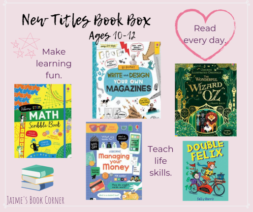 New Titles Book Box Ages 10-12 || Jaime's Book Corner