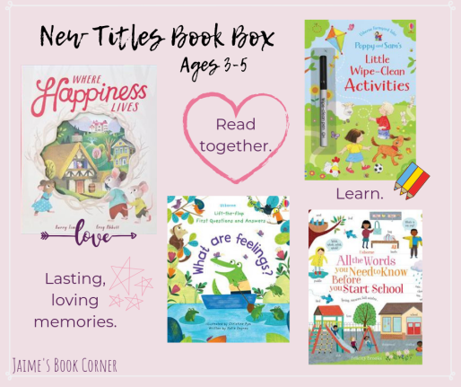 New Titles Book Box Ages 3-5 || Jaime's Book Corner
