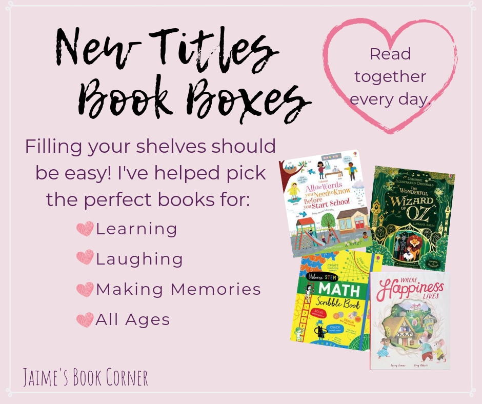 New Titles Book Boxes || Jaime's Book Corner
