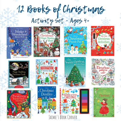 The perfect activity books for your kids this Christmas! - Jaime's Book Corner