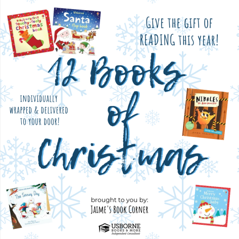 12 Books of Christmas with Jaime's Book Corner