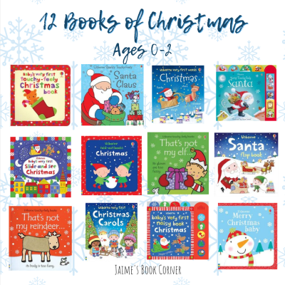 The best Christmas books for newborns through age 2! - Jaime's Book Corner