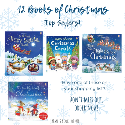 Our Christmas TOP SELLERS that sell out every year before the end of November. Get them now! - Jaime's Book Corner