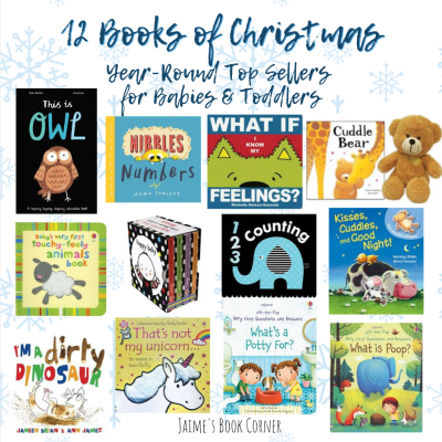 Year-Round Top Sellers are the perfect additions to your 12 Books of Christmas for Babies or Toddlers! - Jaime's Book Corner