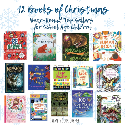 Our year-round Top Sellers are the perfect addition to 12 Books of Christmas for School Age Children! - Jaime's Book Corner