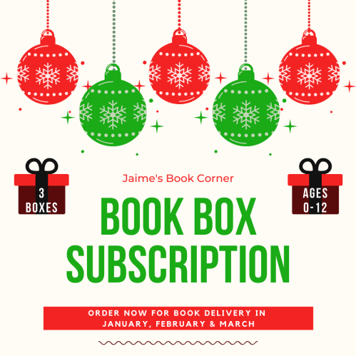 Book Box Subscription Jan-March 2020 from Jaime's Book Corner