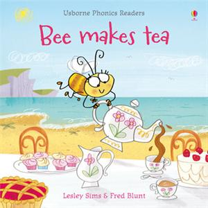 Bee Makes Tea: Usborne Phonics Reader by Lesley Sims & Fred Blunt [] Jaime's Book Corner