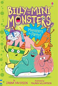 Monsters Go Party! by Zanna Davidson [] Jaime's Book Corner