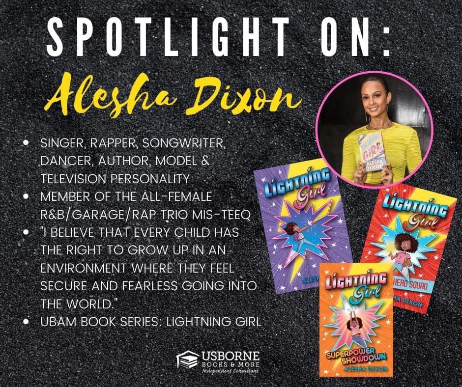 Alesha Dixon, author of Lightning Girl [] Jaime's Book Corner