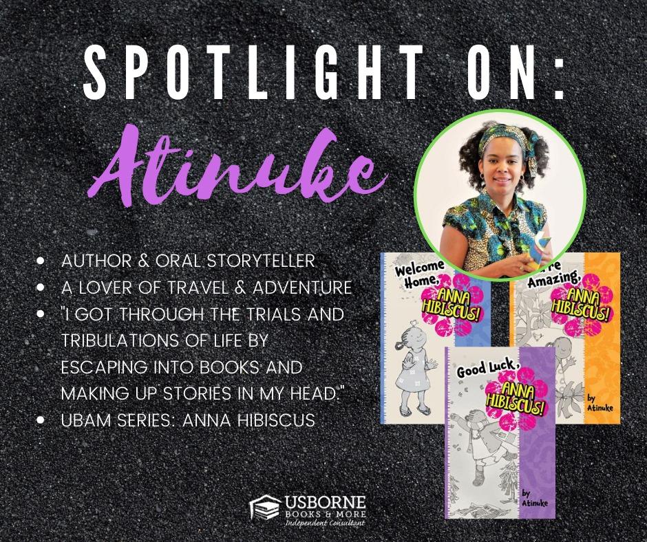 Atinuke, author of Ana Hibiscus [] Jaime's Book Corner
