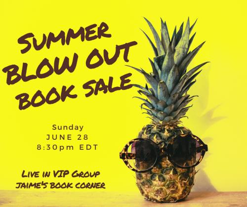 Summer Blowout Book Sale! [] Jaime's Book Corner